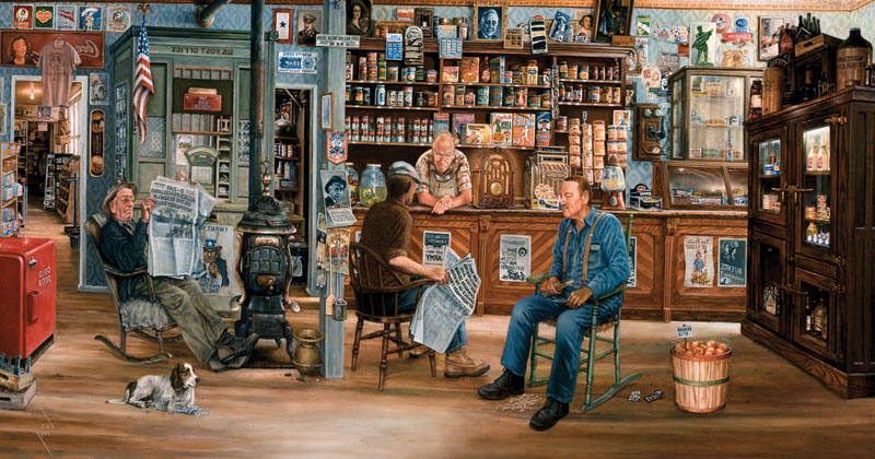A Day to Remember General Store Jigsaw Puzzle