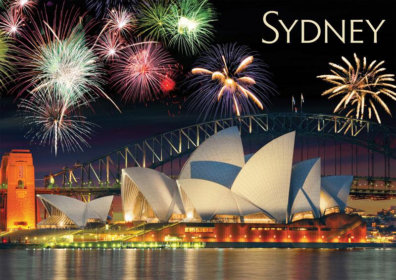 Sydney - Travel Series Australia Jigsaw Puzzle