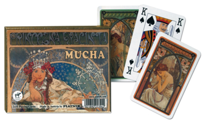 Mucha-Hyacinta, Double Deck Contemporary & Modern Art