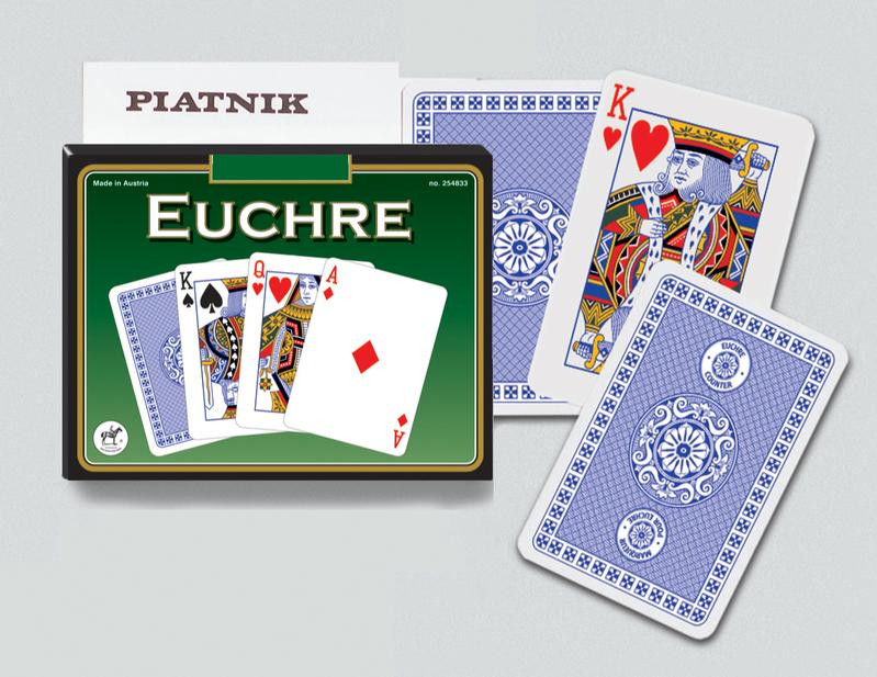 Learn To Play - Euchre Playing Cards