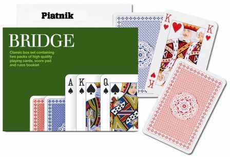 Traditional Bridge, Double Deck Playing Cards