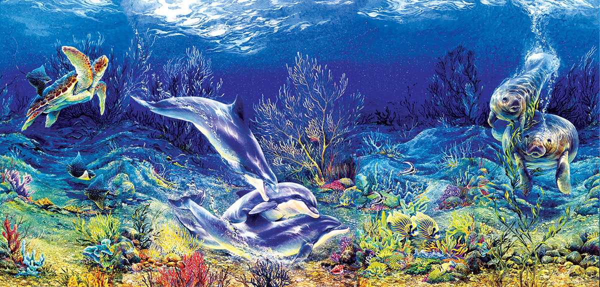 Shell Game Under The Sea Jigsaw Puzzle