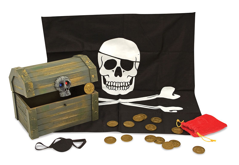 Pirate Chest Pirates Pretend Play