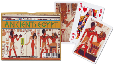 Ancient Egypt, Double Deck Egypt Playing Cards