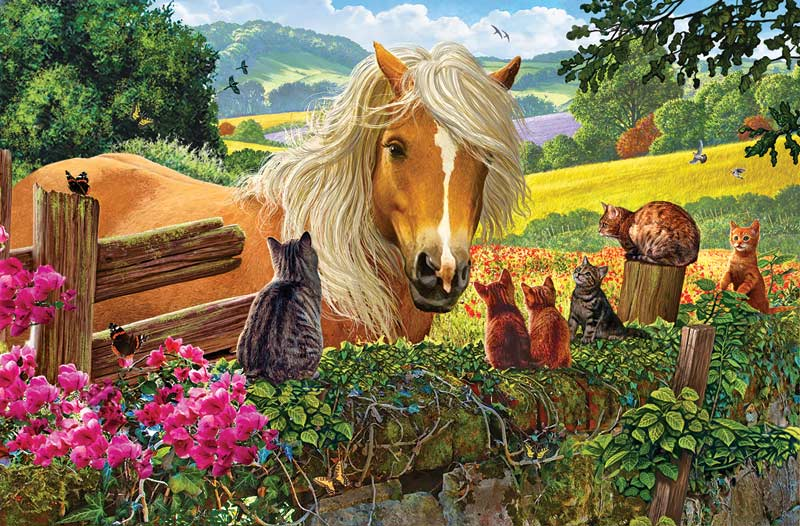 New Neighbors Countryside Jigsaw Puzzle