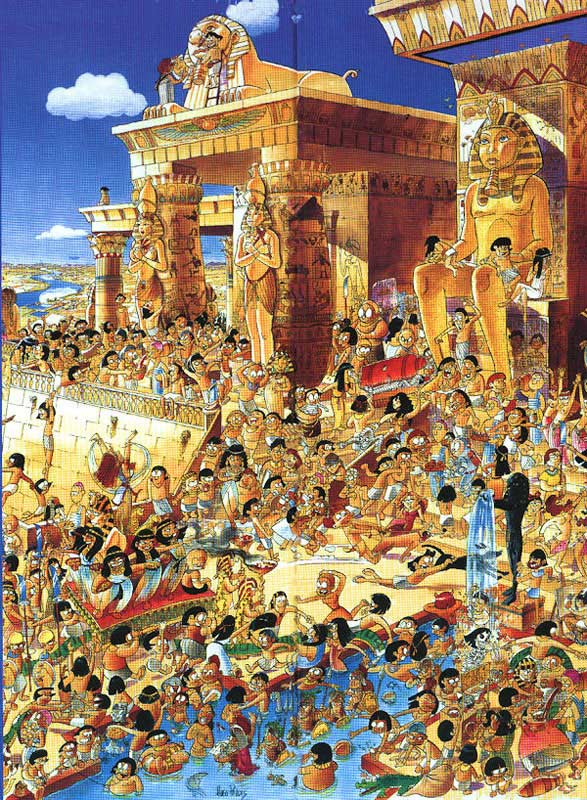 Prades, Egypt Cartoons Jigsaw Puzzle