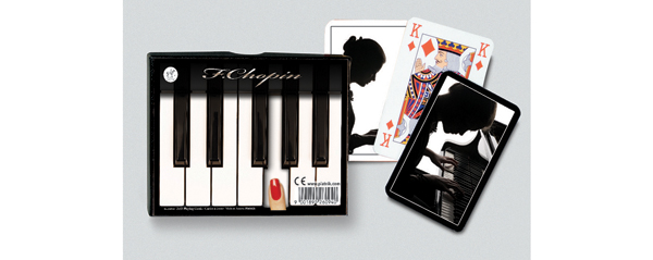 Chopin, Double Deck Famous People Playing Cards