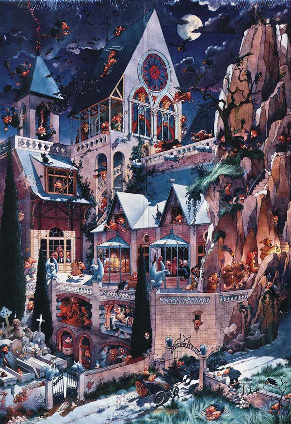 Castle of Horror Castles Jigsaw Puzzle