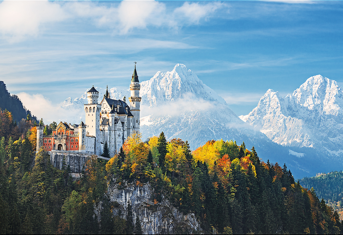 Bavarian Alps - Scratch and Dent Mountains Jigsaw Puzzle