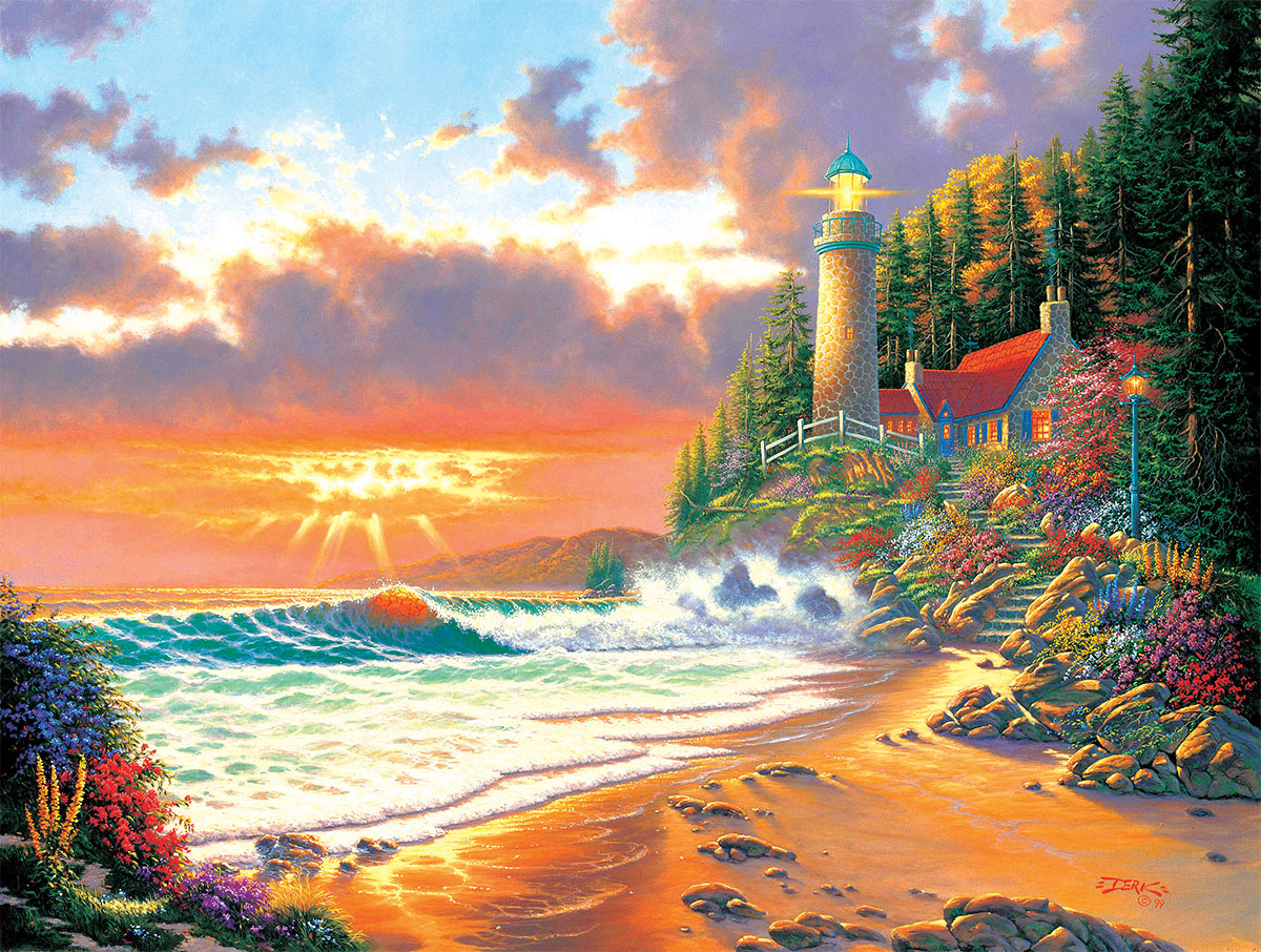 Golden Hour - Scratch and Dent Sunrise / Sunset Jigsaw Puzzle