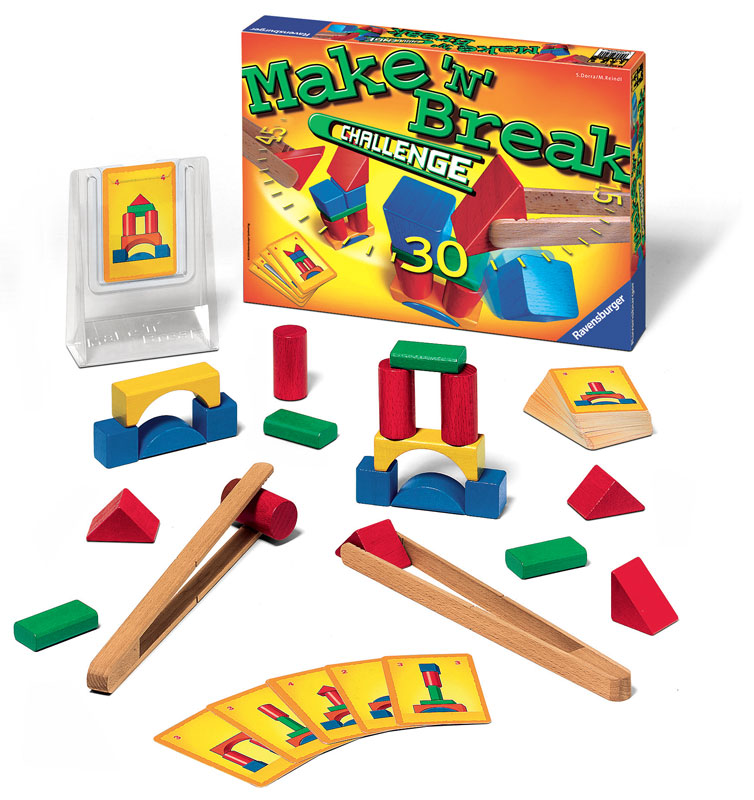 Make 'n' Break Challenge Family Games Game