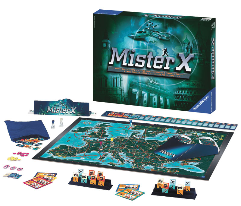 Mister X Strategy/Logic Games