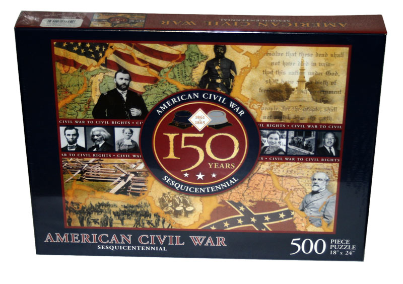 American Civil War - 150 Years History Jigsaw Puzzle