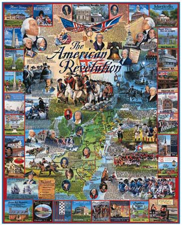 american revolution collage