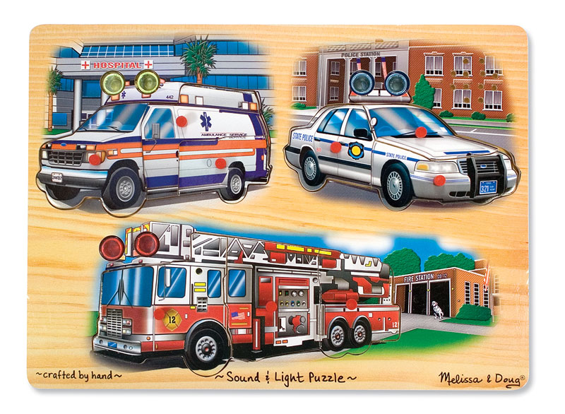 Emergency Vehicles Vehicles Wooden