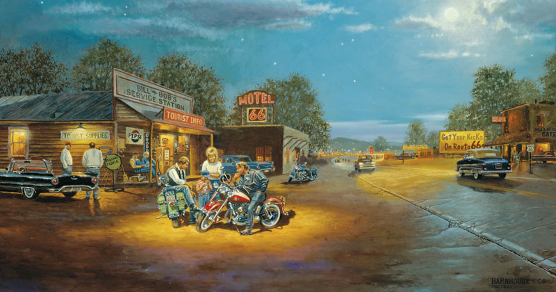 Route 66 Americana Jigsaw Puzzle