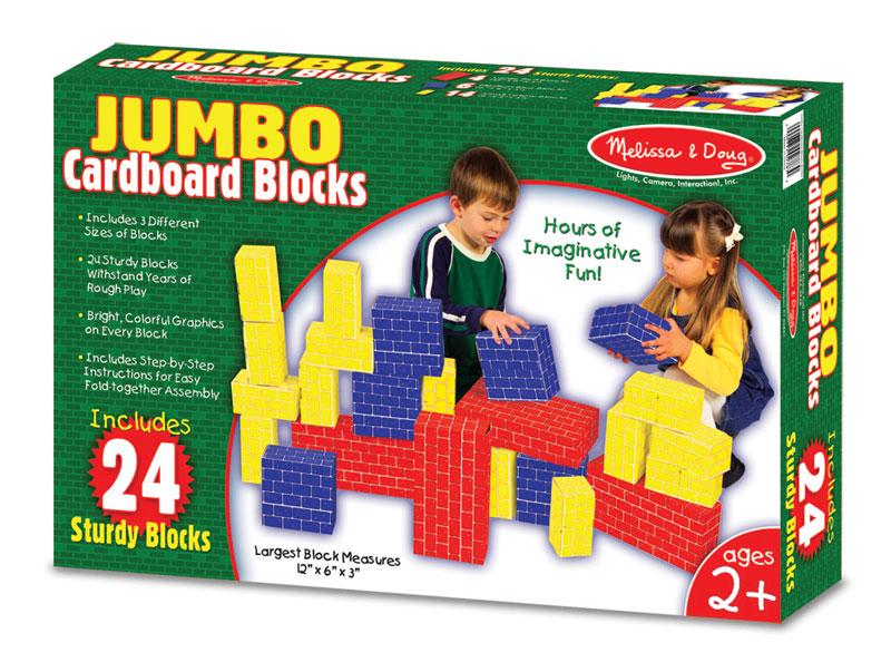 Jumbo Cardboard Blocks