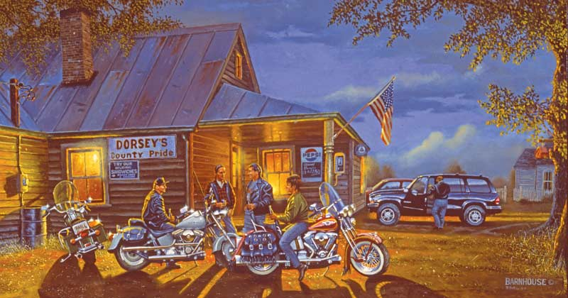 Let the Good Times Roll Motorcycles Jigsaw Puzzle
