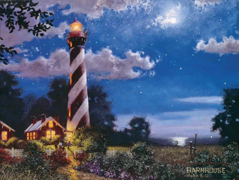 Lighthouse at the Shore Lighthouses Jigsaw Puzzle