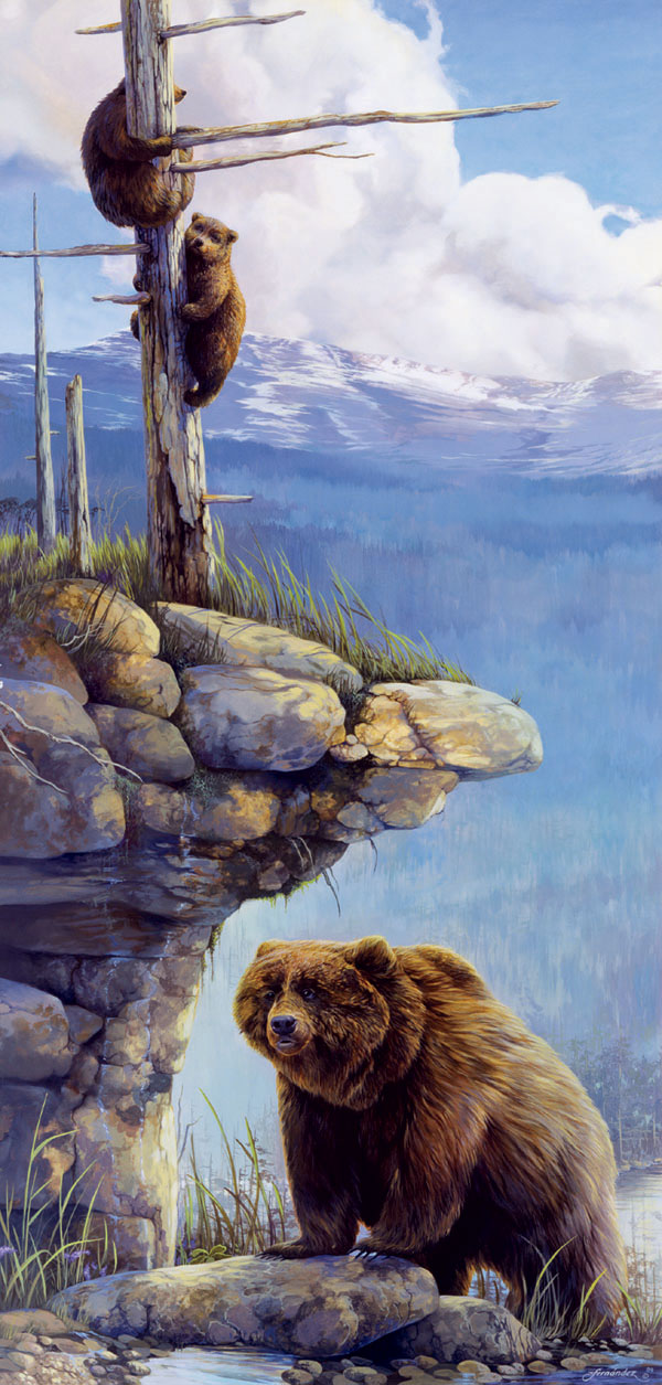 The Balance of Nature Bears Jigsaw Puzzle