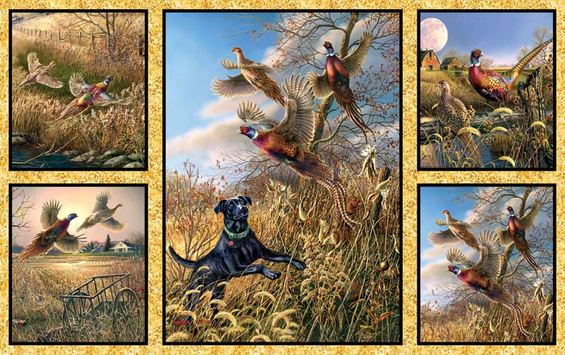 Pheasant Collage Jigsaw Puzzle