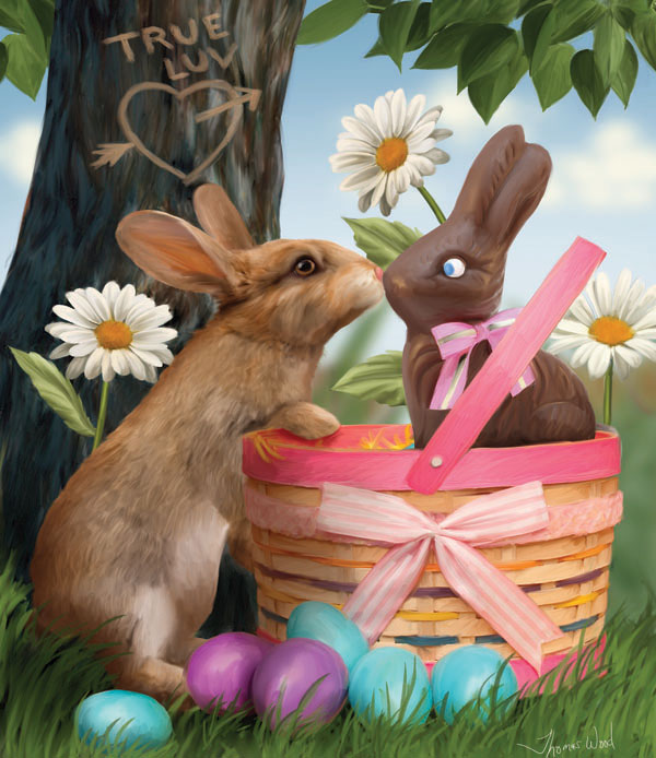 True Love Easter Jigsaw Puzzle