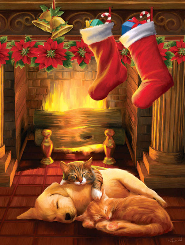 Silent Night Christmas Jigsaw Puzzle