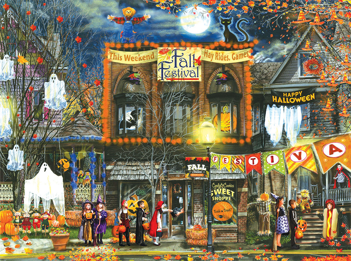 Fall Festival Fall Jigsaw Puzzle