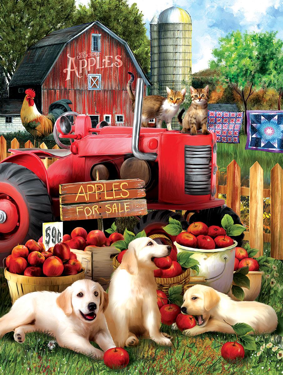 Official Taste Testers Farm Jigsaw Puzzle