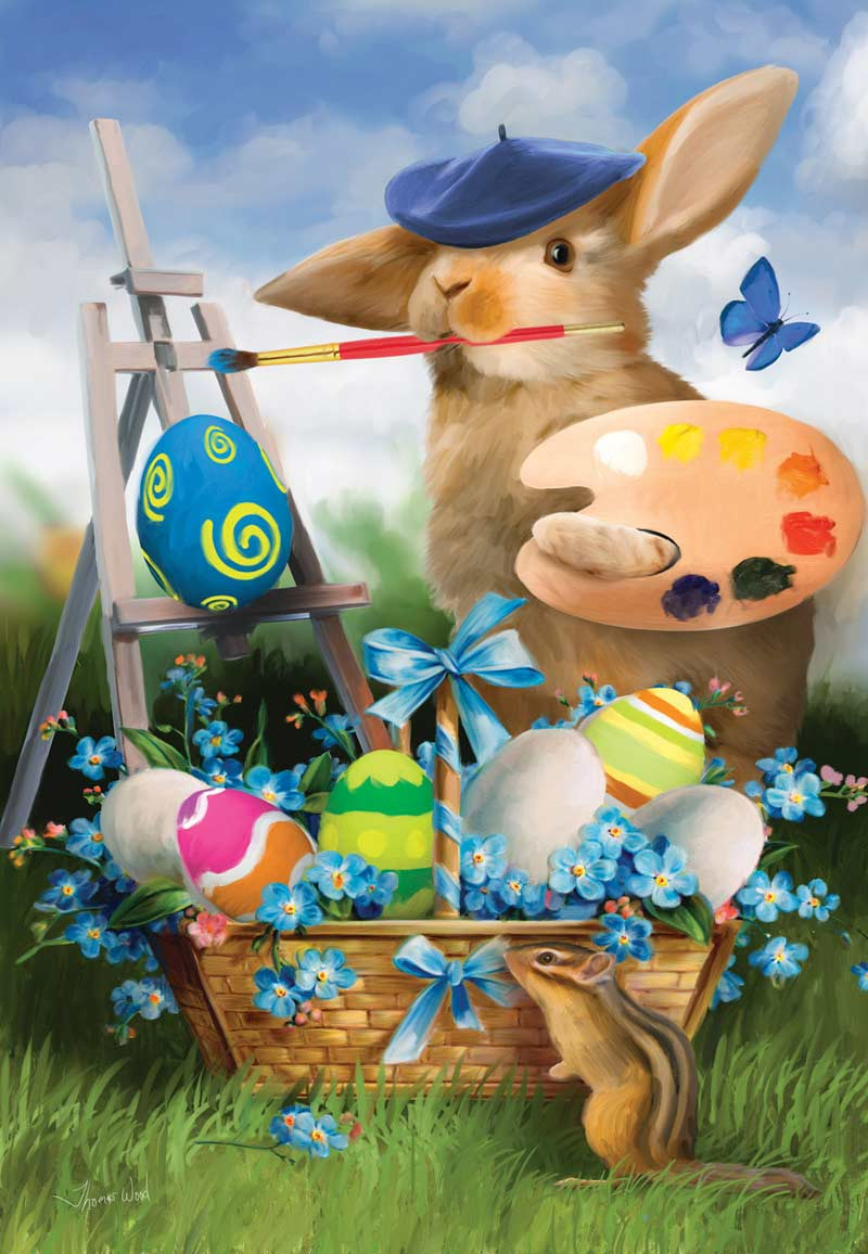 Now That's Art! - 500pc Easter Jigsaw Puzzle