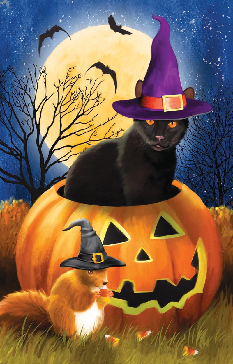 Witching Time Halloween Jigsaw Puzzle