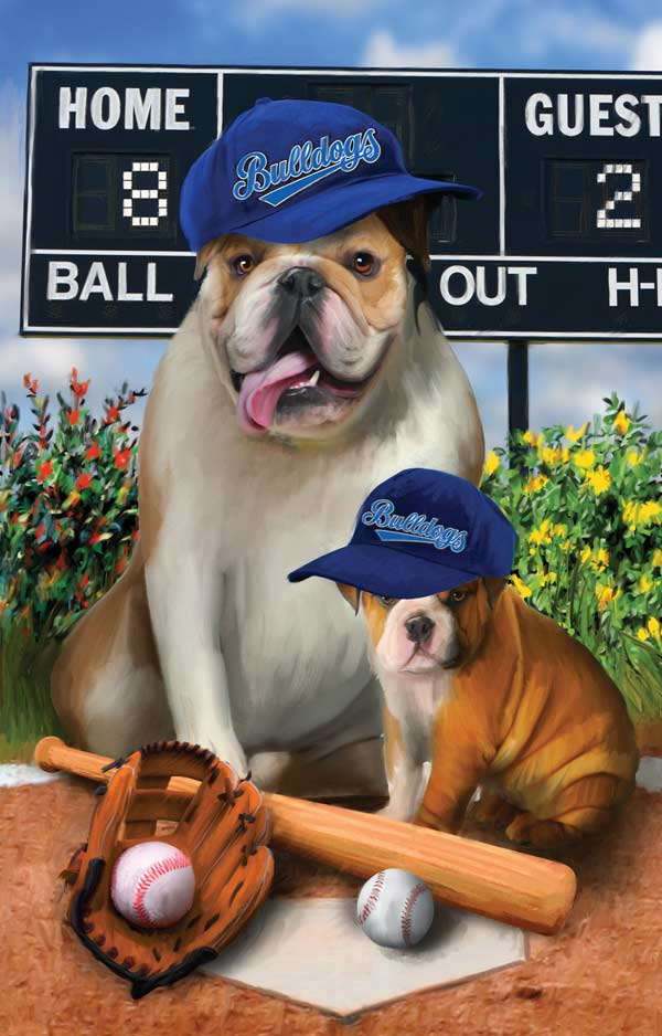 Play Ball Baseball Jigsaw Puzzle