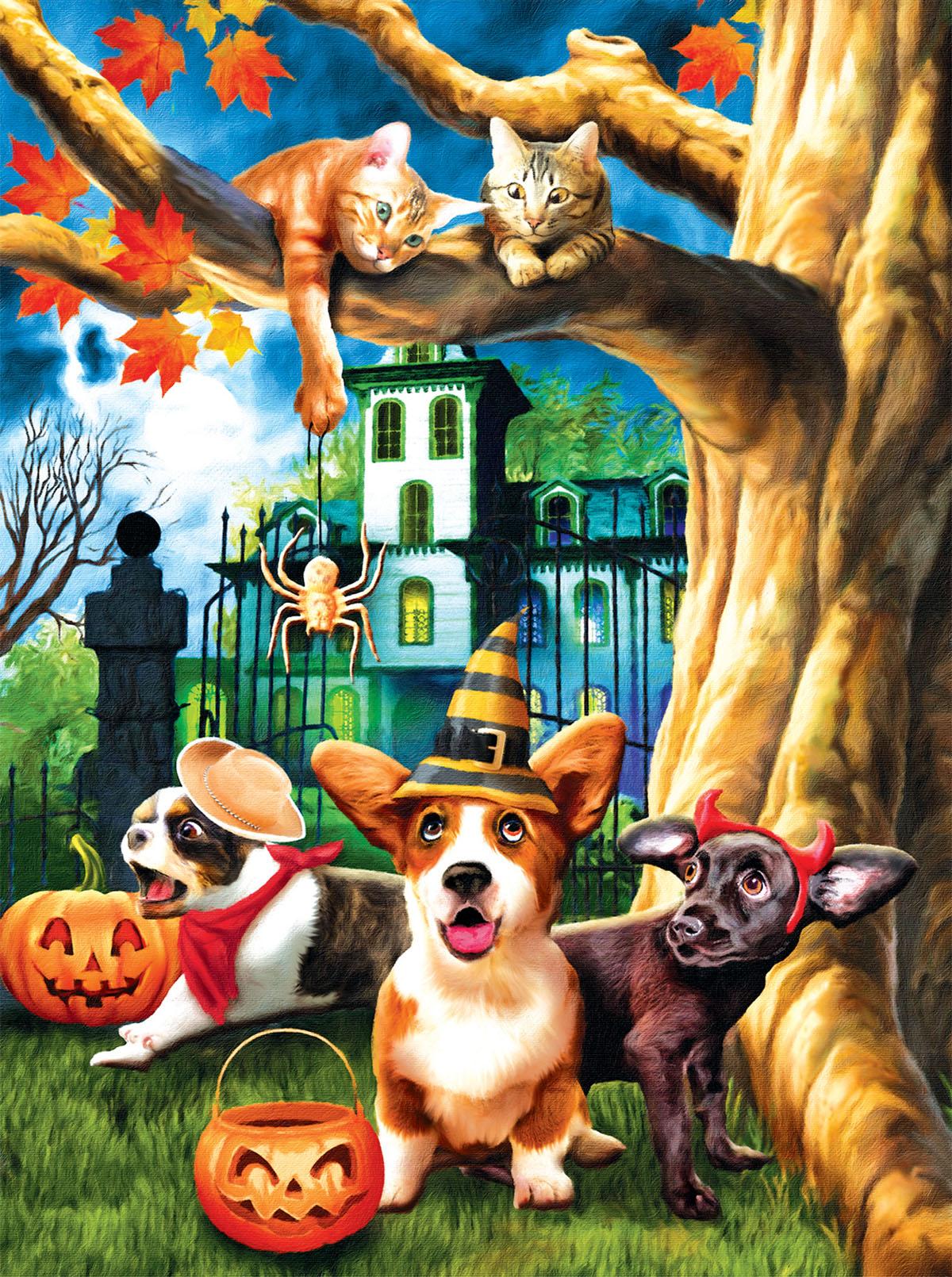 Halloween Hijinks Halloween Jigsaw Puzzle