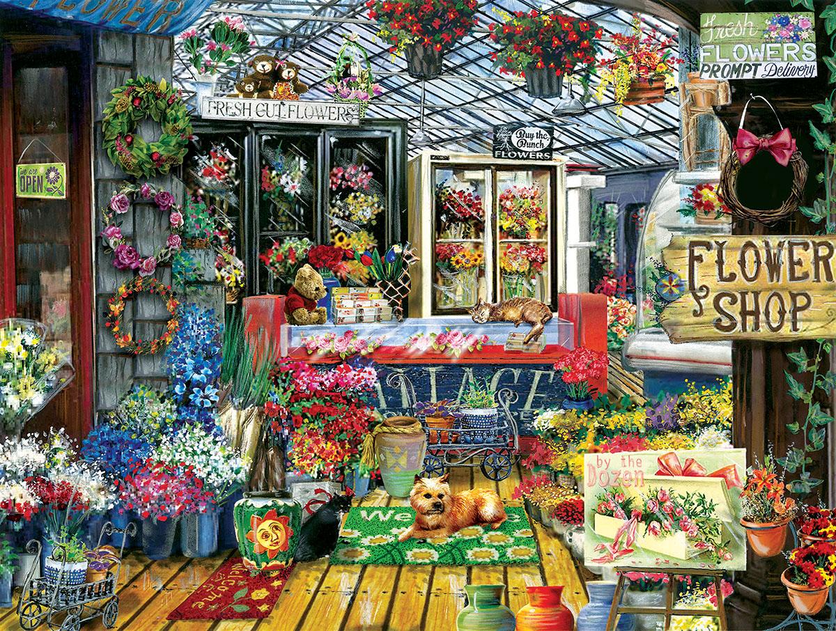 Fresh Cut Flowers Flowers Jigsaw Puzzle