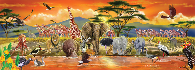 Safari Animals Jigsaw Puzzle