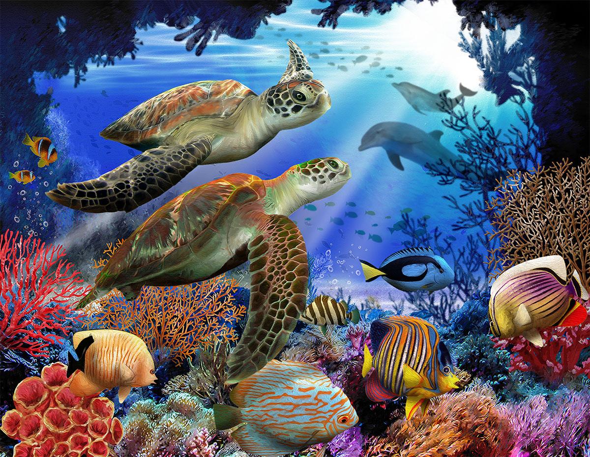 Underwater Fantasy Under The Sea Jigsaw Puzzle