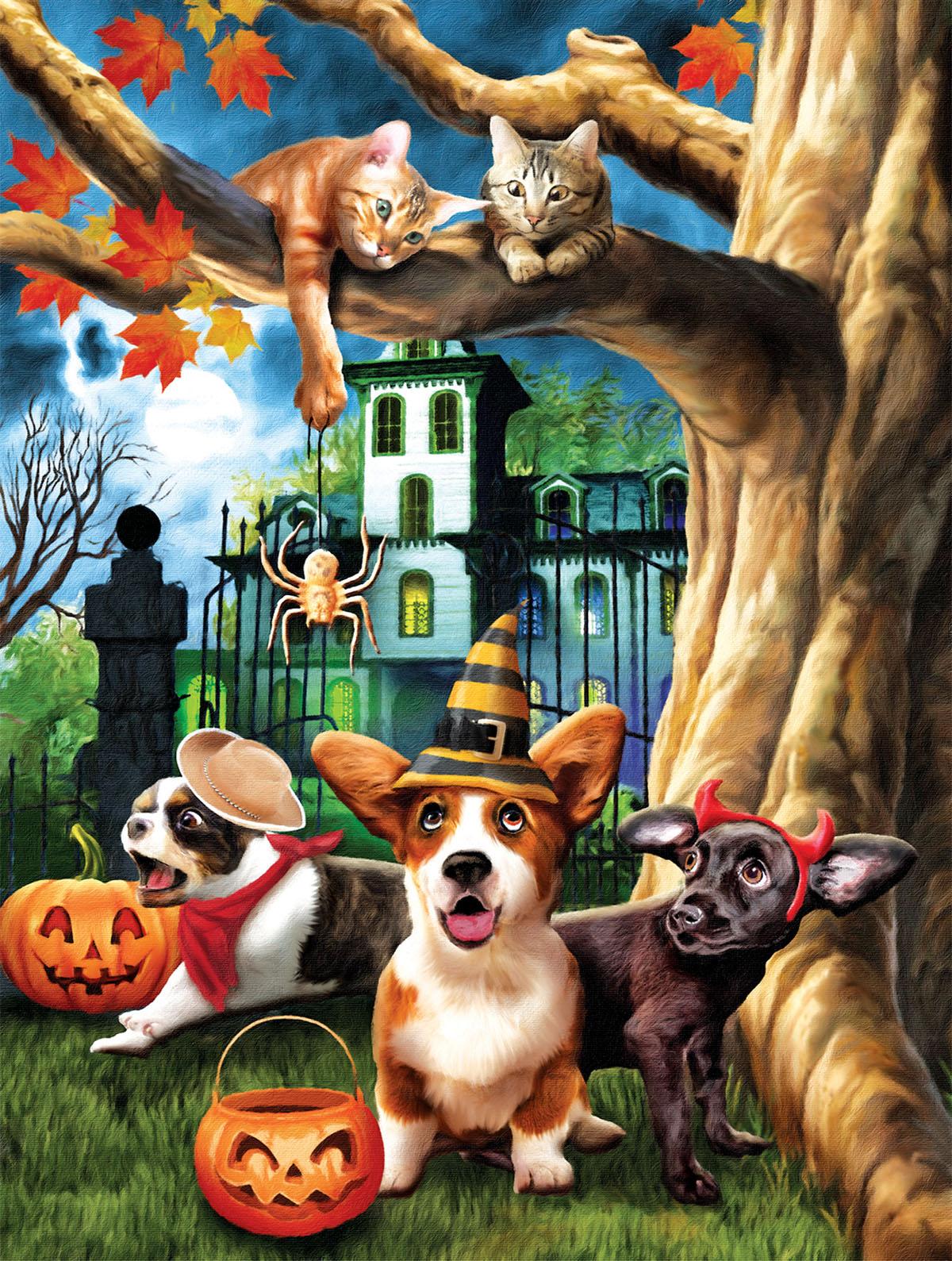Halloween HiJinx Halloween Jigsaw Puzzle