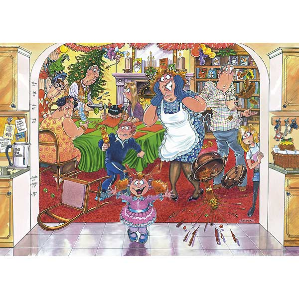 Wasgij Christmas #7 - A Christmas Stuffing Wasgij Jigsaw Puzzle