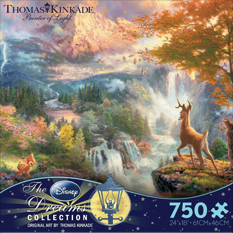 Bambi (Disney Dreams) - Scratch and Dent Disney Jigsaw Puzzle