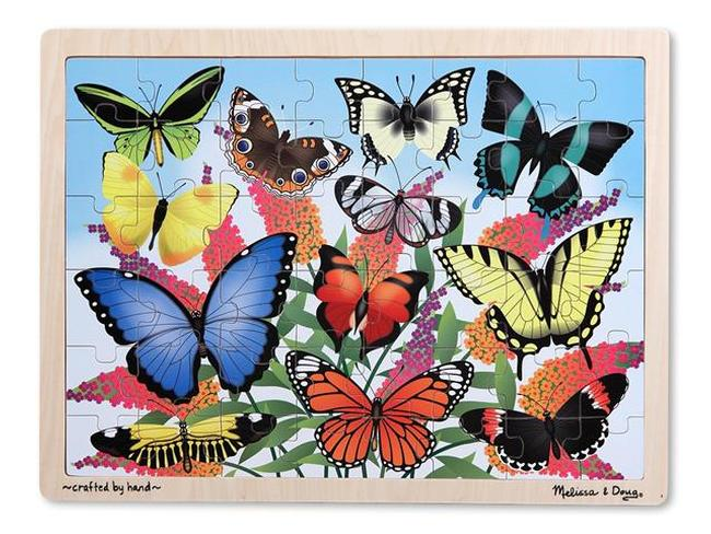 Butterfly Garden Butterflies and Insects Children's Puzzles