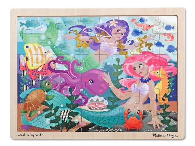 Mermaid Fantasea Under The Sea Jigsaw Puzzle