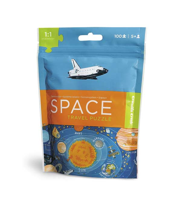Travel Pouch Puzzle - Space Science Children's Puzzles