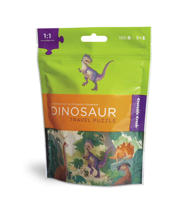 Travel Pouch Puzzle - Dinosaurs Dinosaurs Jigsaw Puzzle