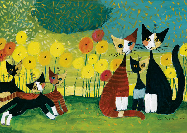 Wachtmeister, All Together Cats Glitter/Shimmer/Foil