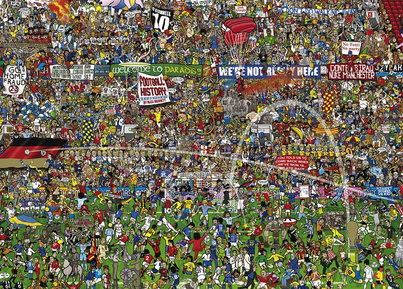 Football History People Jigsaw Puzzle
