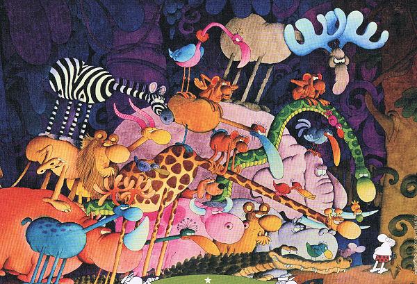 Tarzan Jungle Animals Jigsaw Puzzle