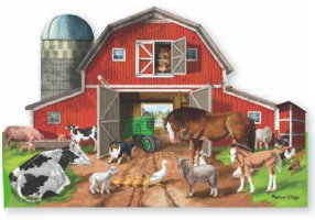 Busy Barn - Scratch and Dent Farm Jigsaw Puzzle