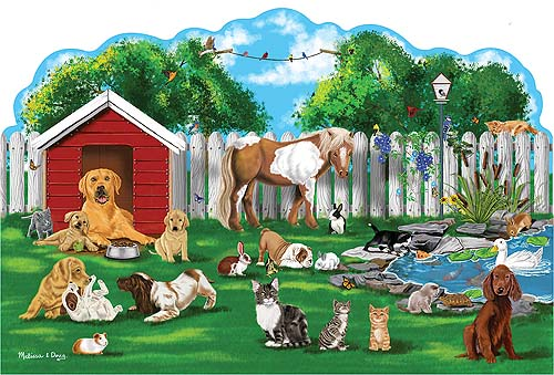 Pet Party - Floor Puzzle Animals Children's Puzzles