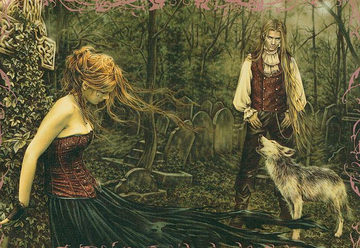 Wolf, V. Frances Gothic Jigsaw Puzzle
