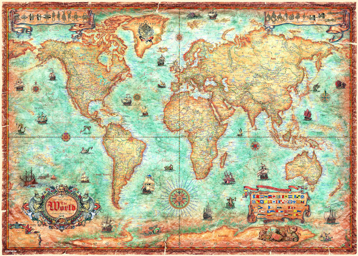 The World Graphics / Illustration Jigsaw Puzzle